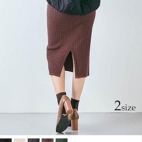 リブニットタイトスカート ks0427
