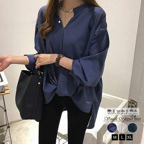 スキッパーシャツ s0120