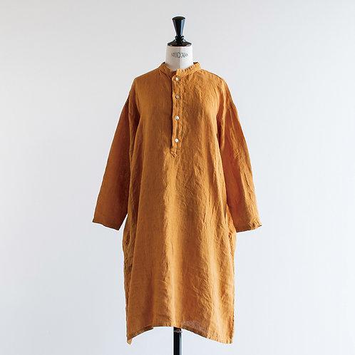 Belgium Linen Stripe Cleric Shirts