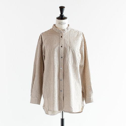 Cotton Linen Stripe Shirts