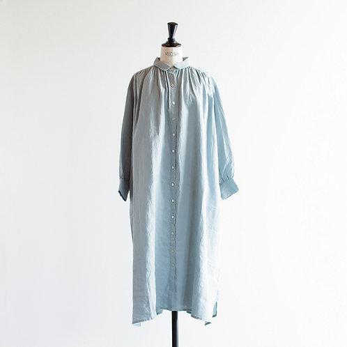 Linen Gather Shirts Onepiece