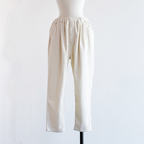 Corduroy Tapered Pants