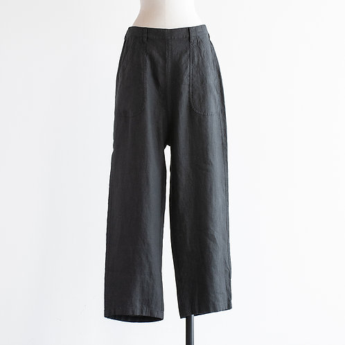 Heavy Linen Easy Utility Pants