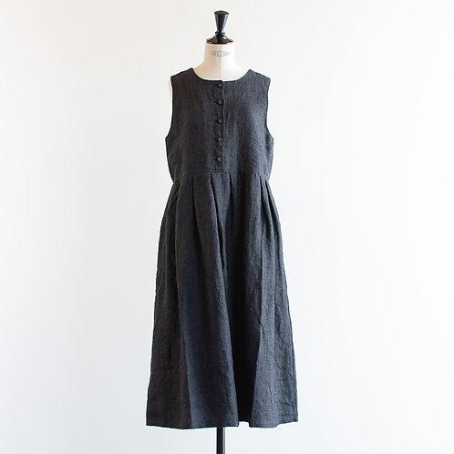 Linen Twill 2way Jumper Skirt