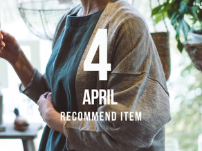Release! 4月 Recommend Item