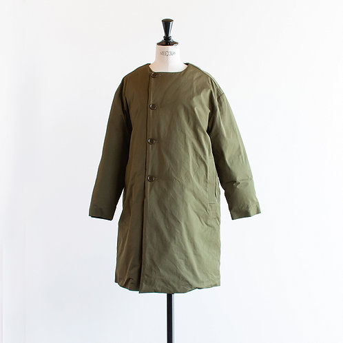 No Collar Padding Coat