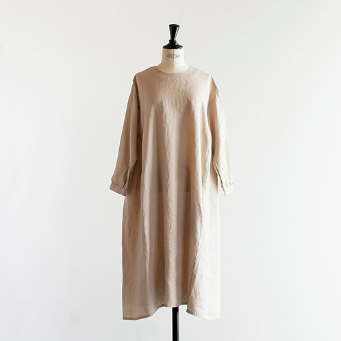 Linen Side Gather Onepiece