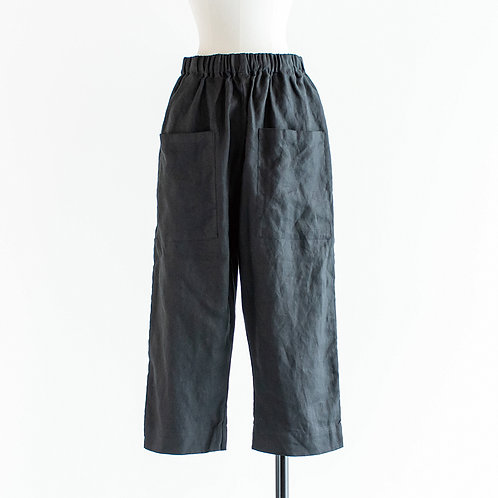 Linen Big Pocket Pants