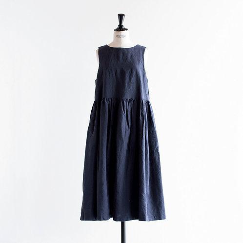 Linen Chambray 2Way Jumper Skirt