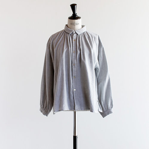 Cotton Viyella Gather Blouse