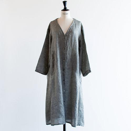 Belgium Linen Chambray Gown