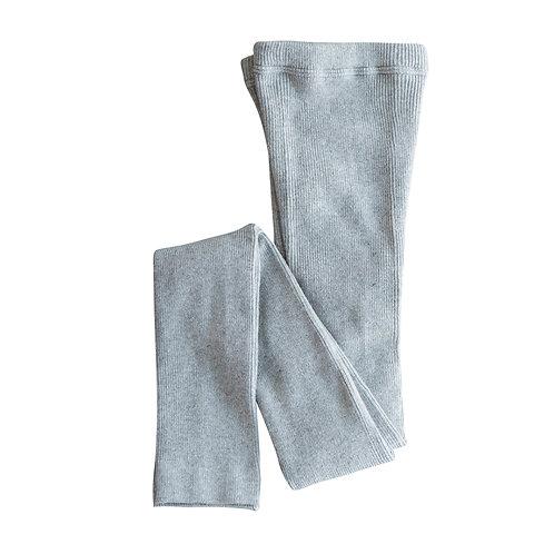 Cotton Linen Rib Leggings