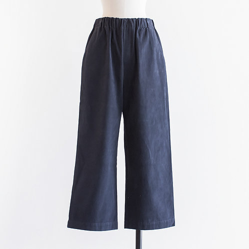 Cotton Katuragi Wide Easy Pants
