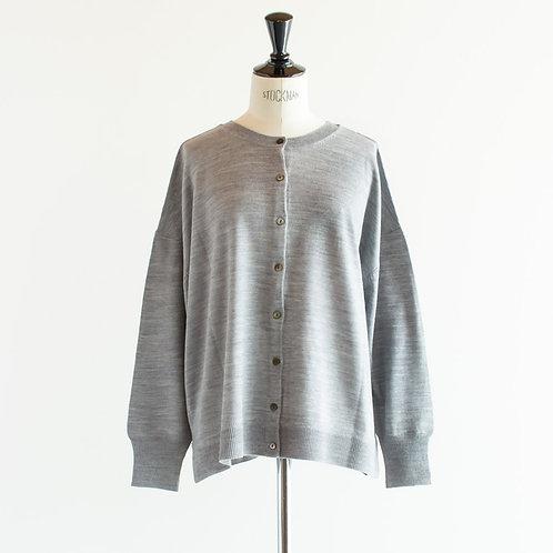 Acrylic Wool Knit 2way Cardigan