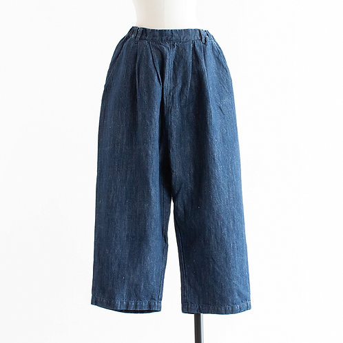 Cotton Linen Denim Pants
