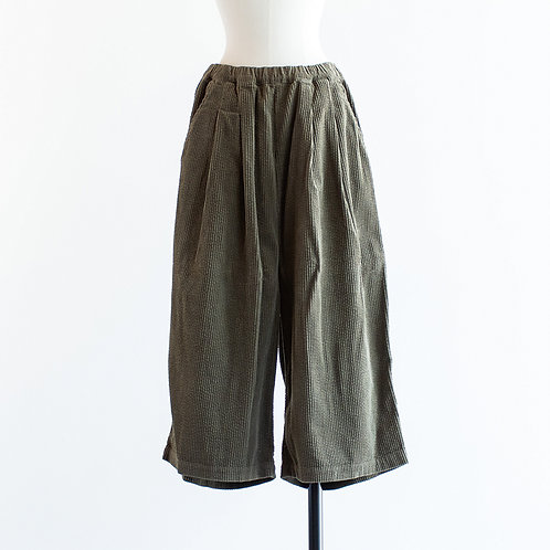 Corduroy Wide Culottes