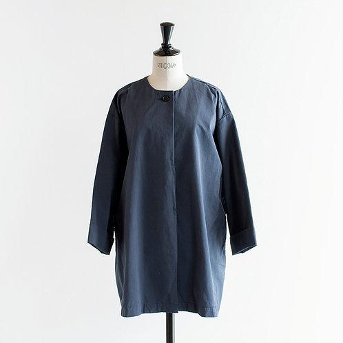 Cotton Twill No Collar Jacket