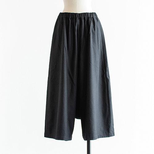Wool Mix Sarrouel Pants