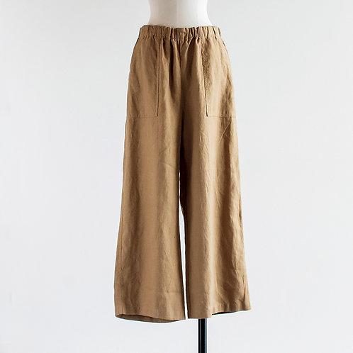 Linen Baker Easy Pants