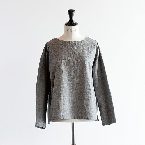 Cotton Linen 2Way Pullover