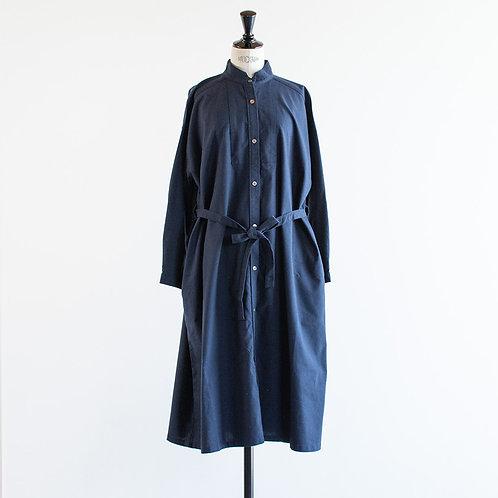 Cotton Linen Dress Shirt Onepiece