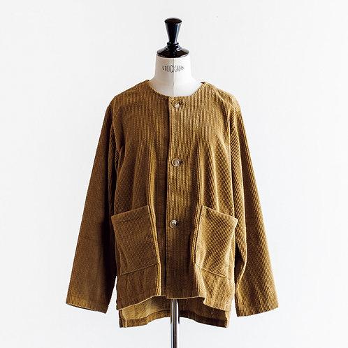 Corduroy No Collar Jacket