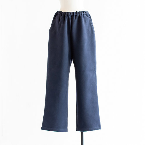 Fake Wool Easy Pants