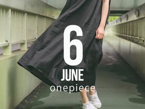 6月リリース  リネンワンピース
