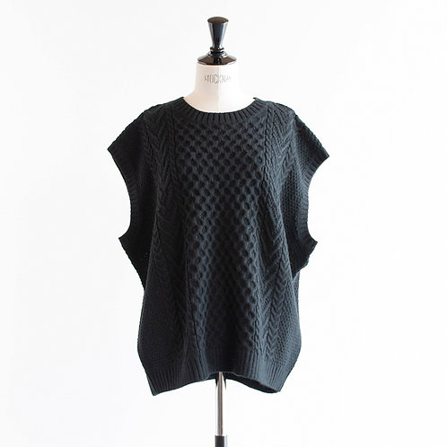 Alpaca Mix Knit Vest