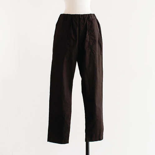 Cotton Tapered Baker Pants