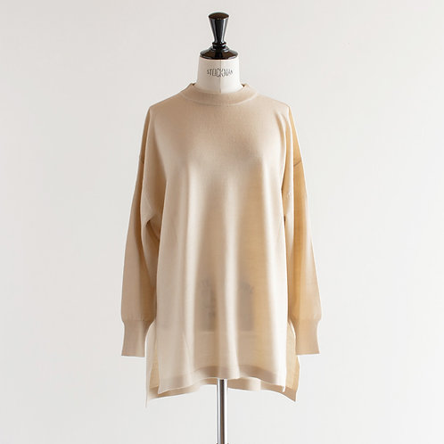 Acrylic Wool Knit Pullover