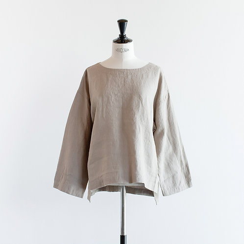 Linen Roundneck Pullover