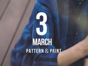 Release! 3月 pattern&print
