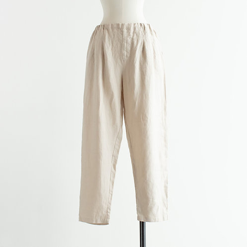 Linen Tapered Pants