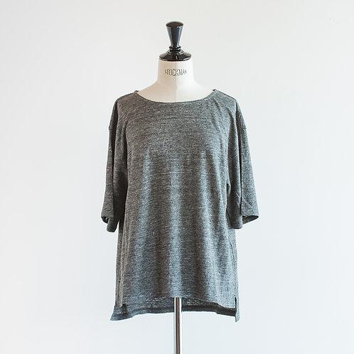 Linen Cut Wide Pullover