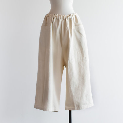 Cotton Twill Front Pocket Pants