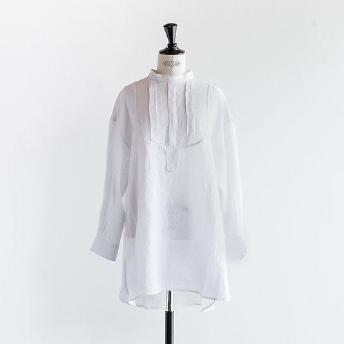 Linen Pullover Dress Shirt