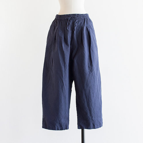 Linen Chambray Wide Pants