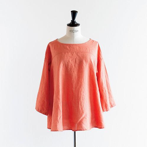 Linen Flare Pullover