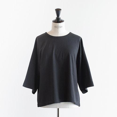 Organic Cotton Sulfidedye  Half Sleeve T-Shirts
