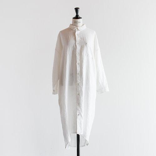 Linen Pocket Shirt Onepiece