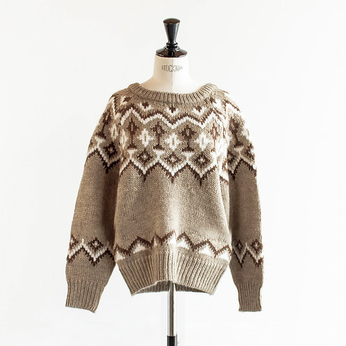 Wool Mix Nordic Sweater