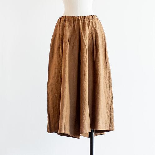 Linen Gaucho Pants