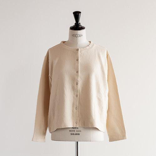 Cotton Linen Sweat Cardigan