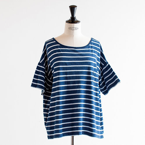 Indigo Cut Pocket T-shirt