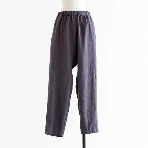 Twill Linen Monpe Pants