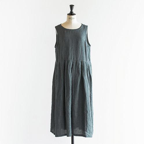 Belgium Linen Overdye N/S Tuck Onepiece