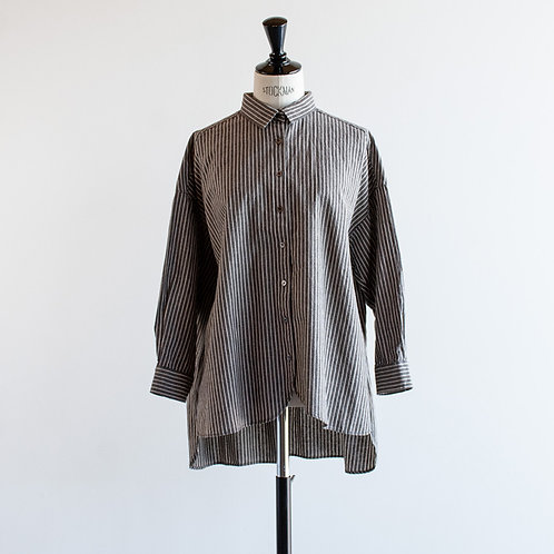 Linen Cotton Stripe Shirt