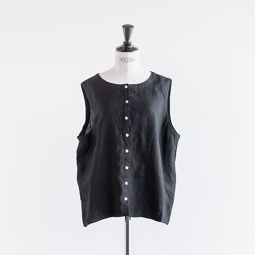 Linen 2way Vest