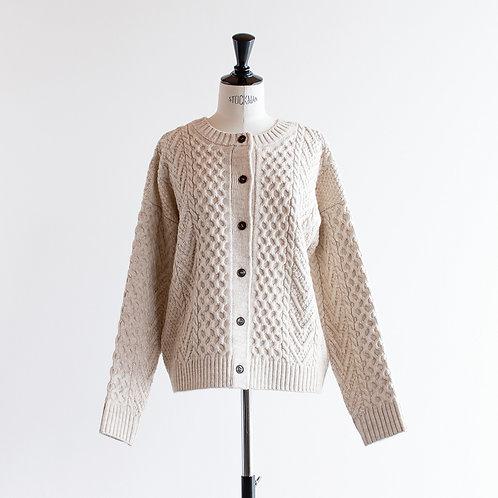 Alpaca Mix Knit 2way Cardigan